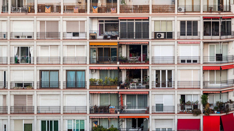 Bloque de pisos en Barcelona. (iStock)