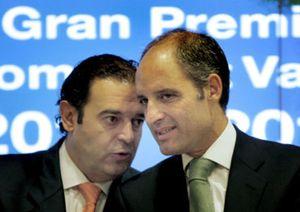 La fusión de Bancaja y CAM defendida por Camps choca con los intereses del PP de Alicante