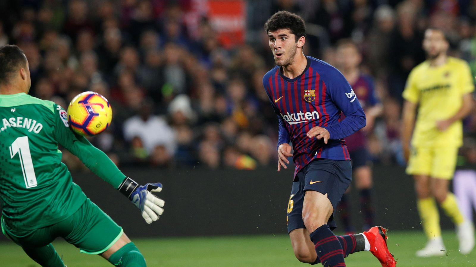 Foto: La liga santander - barcelona v villarreal