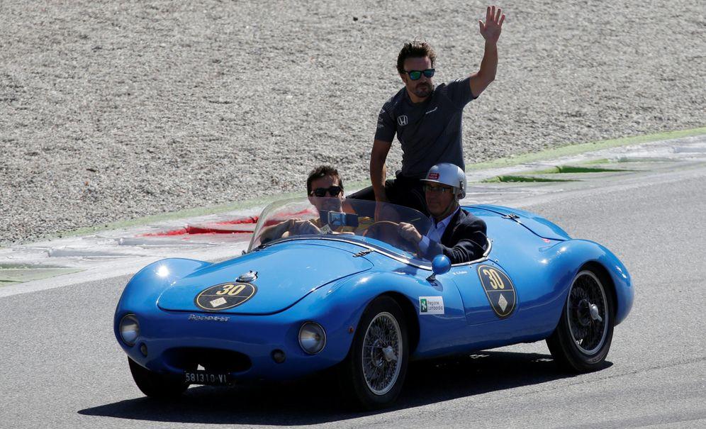 Foto: La mejor vuelta en Monza fue la del desfile previo, dijo Fernando Alonso tras la carrera. (Reuters)