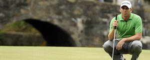 Sergio García recupera su papel estelar en el Open de Rory McIlroy