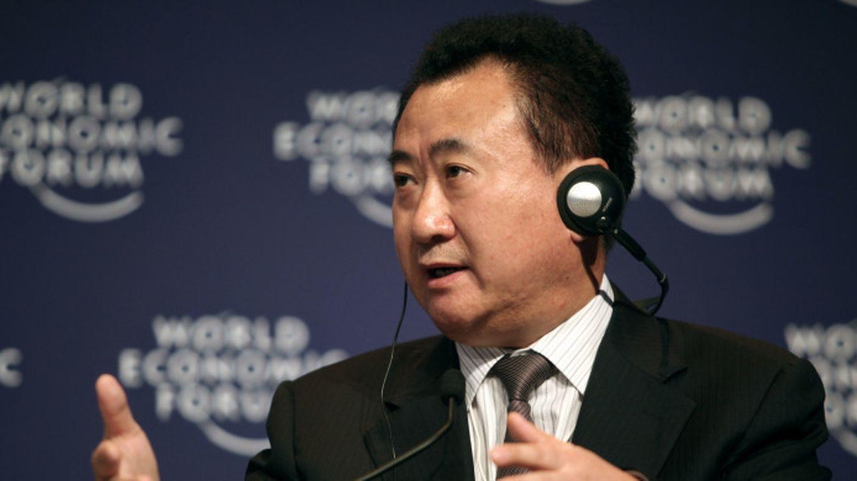 Wang Jianlin presidente de Dalian Wanda Group,
