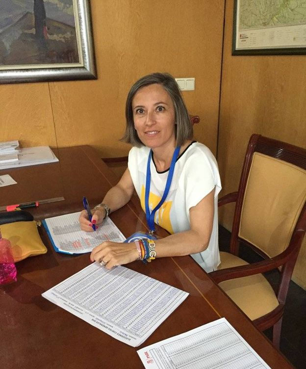 Foto: Olga Fernández, actual concejala del PP en Serranillos.