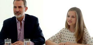 Post de La 'norma' real que no siguen el rey Felipe VI y la princesa Leonor