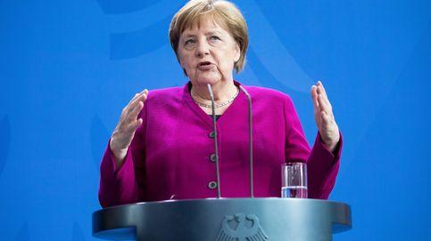 Merkel descarta categóricamente querer entrar en política europea