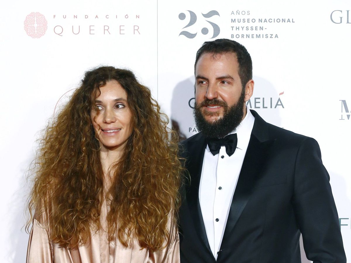 Foto: Borja Thyssen y su esposa, Blanca Cuesta. (EFE)