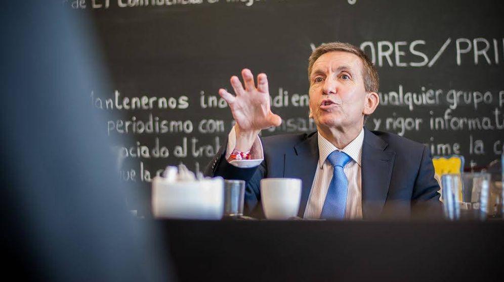 Foto: Entrevista en El Confidencial con el fiscal jefe Anticorrupción, Manuel Moix. (C. Castellón)