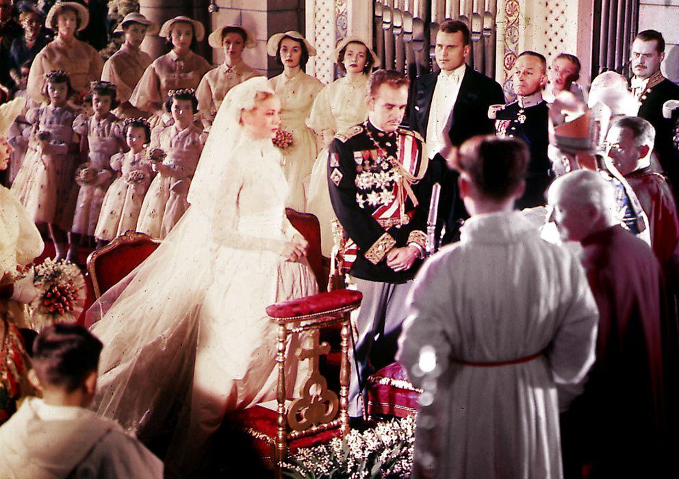 Foto: La boda, celebrada el 18 de abril de 1956 (Gtres)