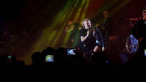 Pilar Rubio canta con Obús