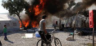 Post de Euskadi se ofrece a acoger refugiados de Lesbos tras el incendio de Moria