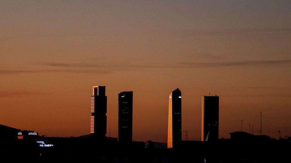 Foto: Vista general de las Cuatro Torres de Madrid. (Reuters)
