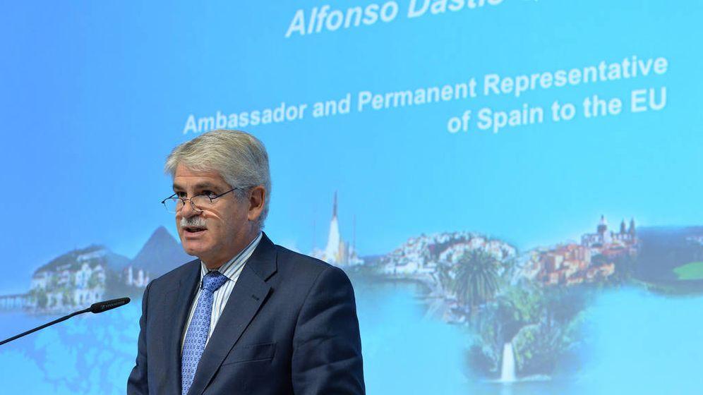 Foto: El diplomático Alfonso Dastis es el nuevo ministro de Asuntos Exteriores. (EC)