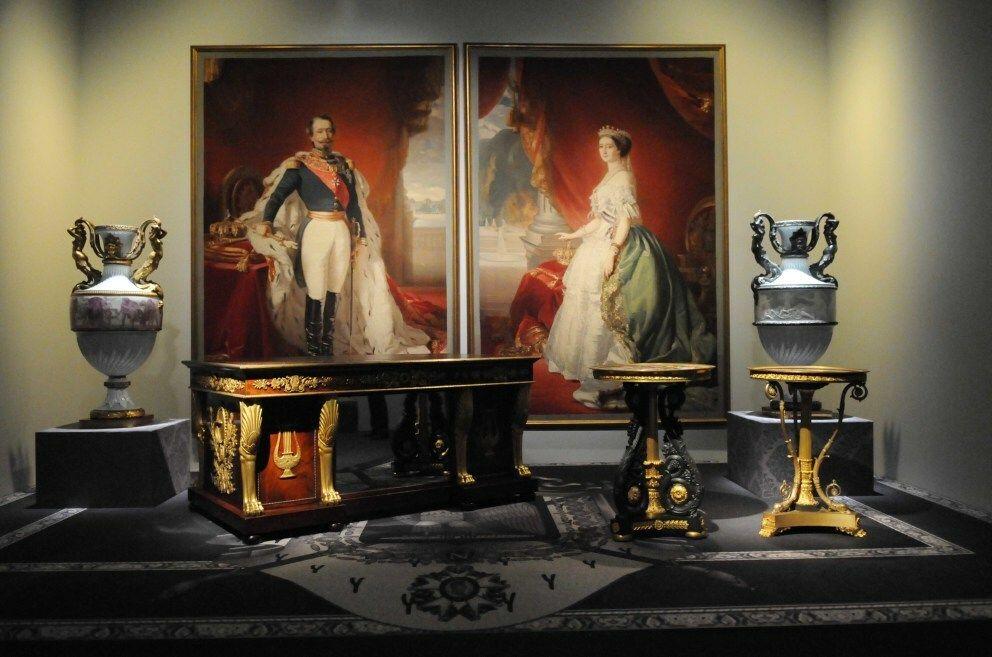 Algunas de las obras del 'Legado de la Casa de Alba' expuestas en Madrid