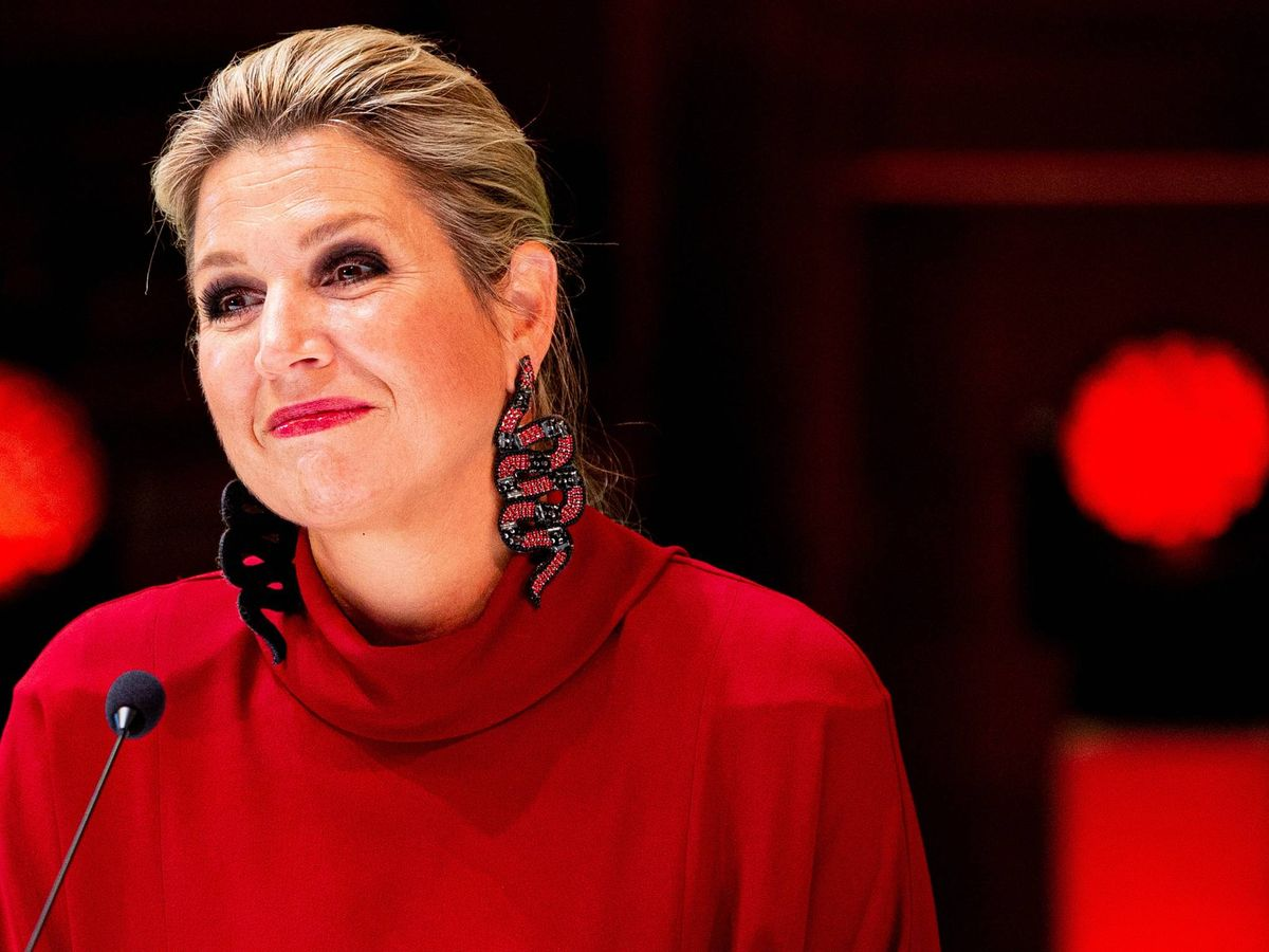 Foto: La reina Maxima, en Utrecht. (Cordon Press)