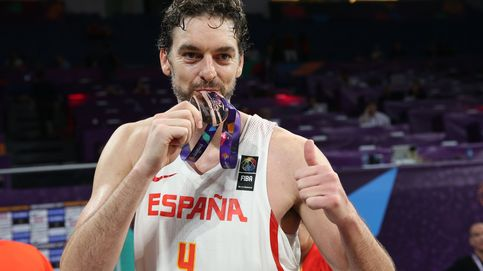 Las mejores imágenes del bronce de la selección española de baloncesto en el EuroBasket