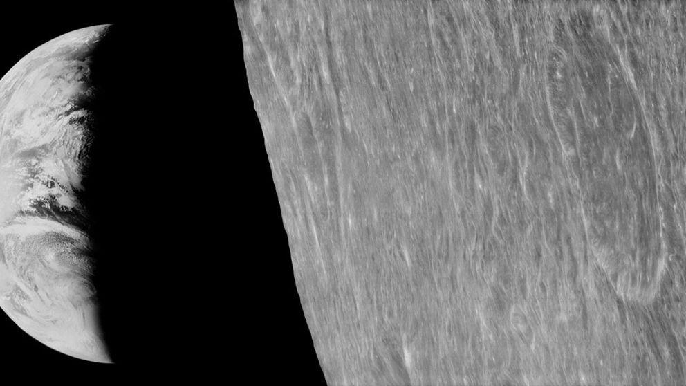 Un equipo recupera las imágenes de la Luna tomadas en los 60