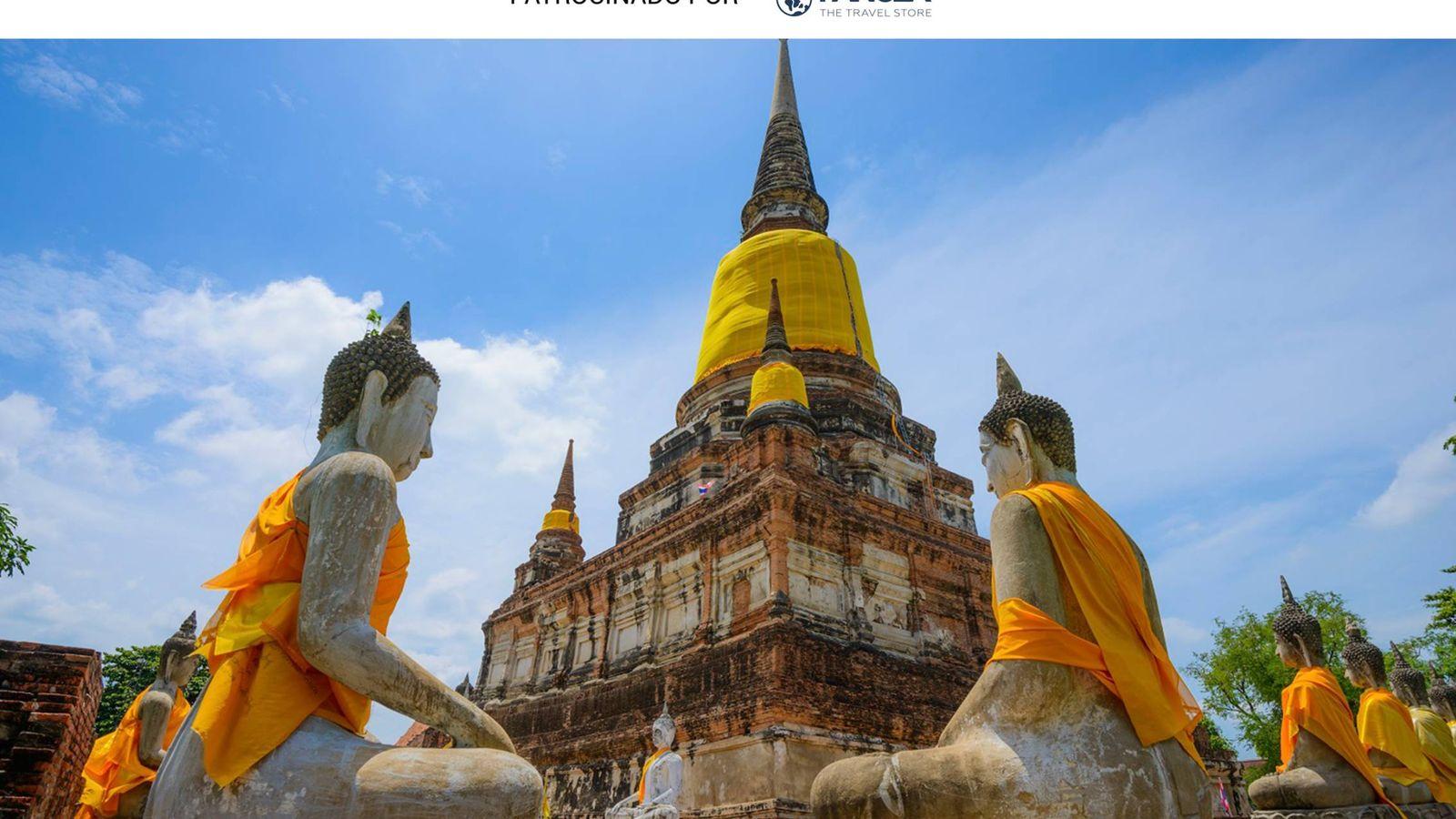 Foto: El Wat Yai Chai de Ayutthaya, en Tailandia. (iStock)