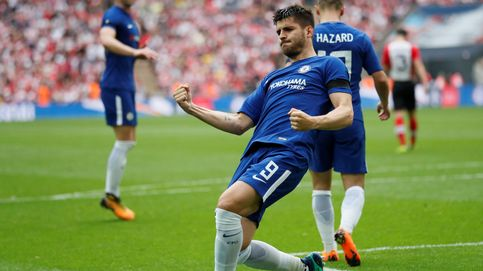 El reto de Morata en el Chelsea sin Conte: convencer a Sarri y Luis Enrique