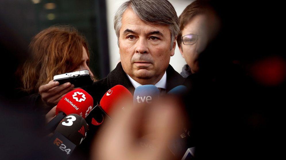 Foto: Agustín Martínez, abogado de algunos de los miembros de La Manada   EFE