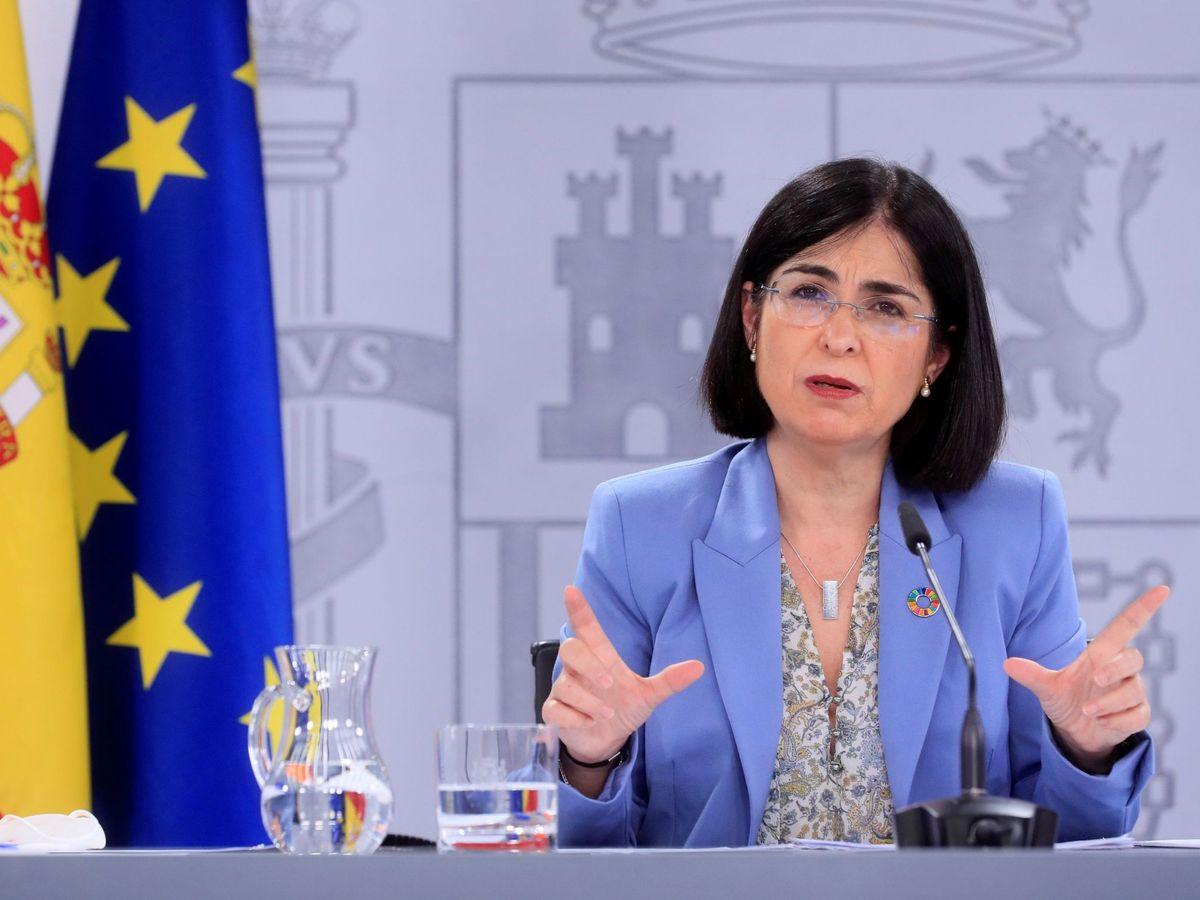 Foto: La ministra de Sanidad, Carolina Darias. (EFE)