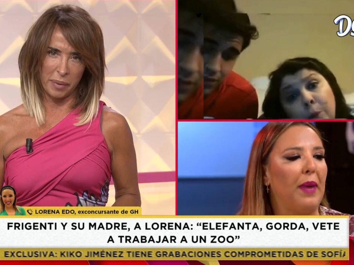 Foto: María Patiño, en 'Socialité'. (Mediaset)