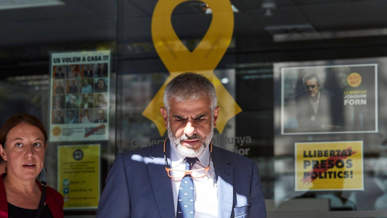 El portavoz de Ciudadanos en el Parlament, Carlos Carrizosa. (EFE)