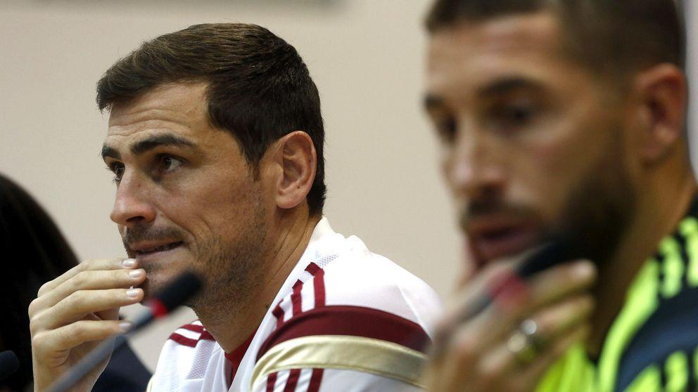 Casillas y Ramos sacan la cara por Piqué: Quiere estar con España