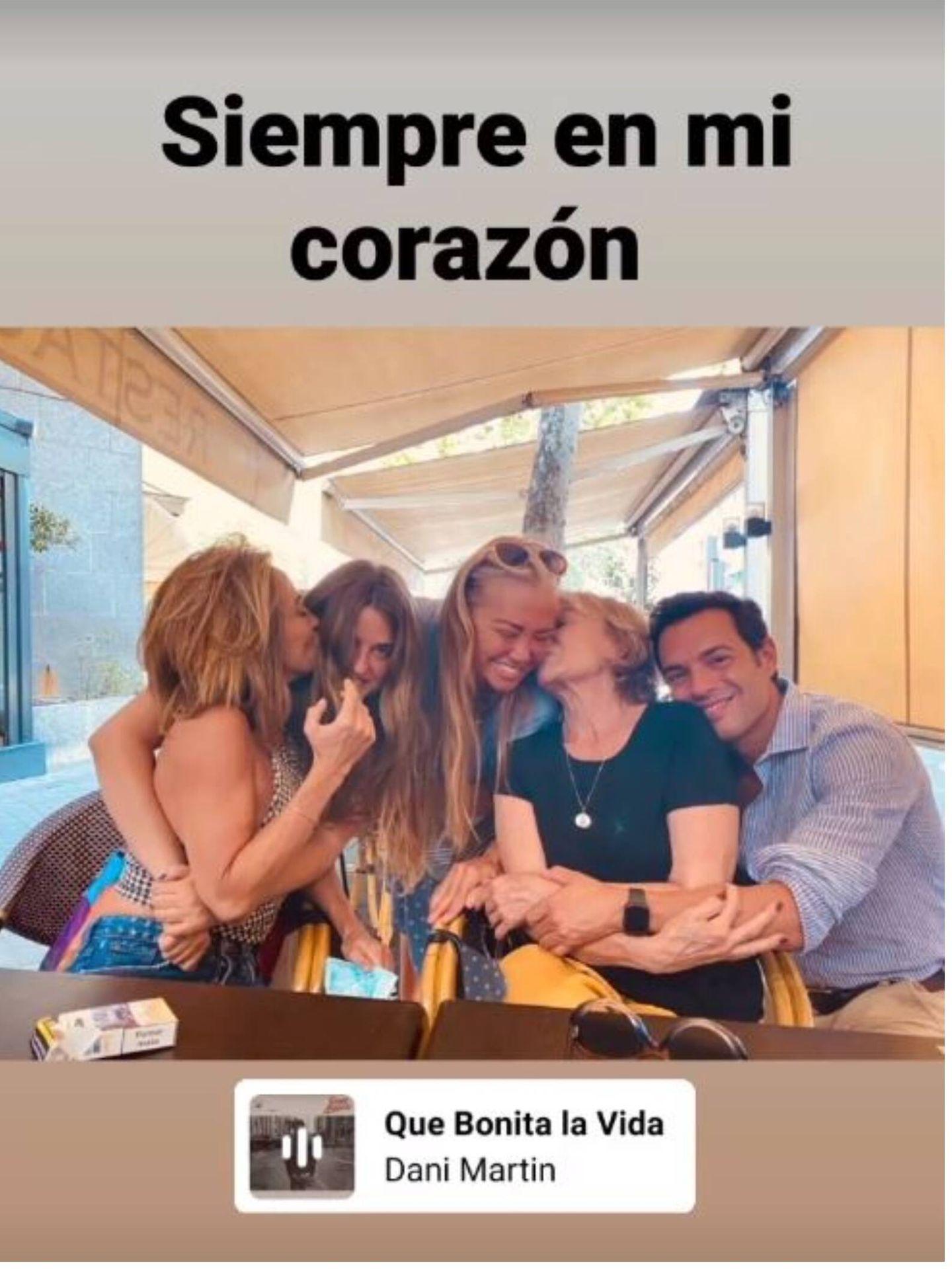 Belén Esteban recuerda a Mila Ximénez con esta imagen. (Instagram @belenestebanmenendez)