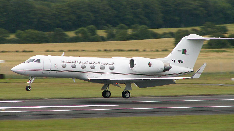 Foto: Avión argelino.