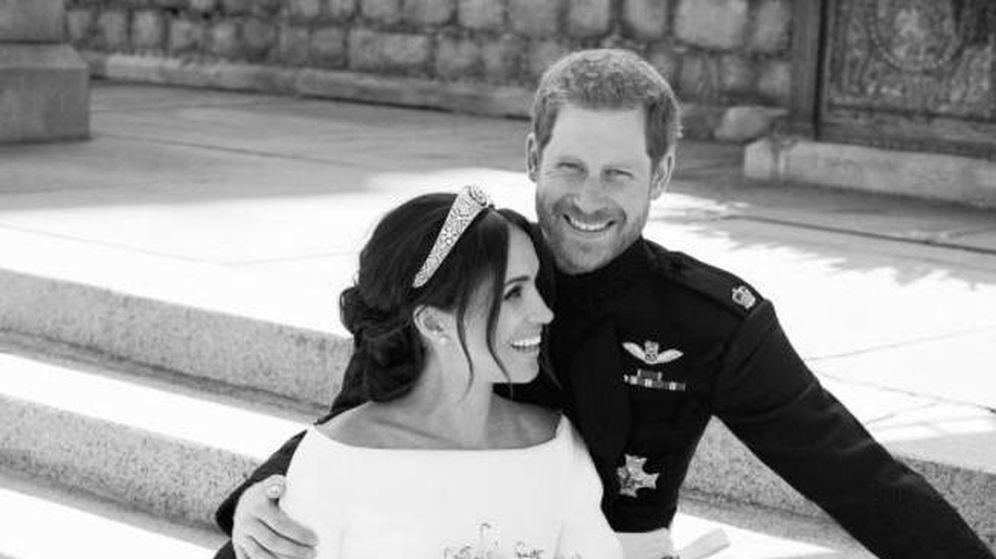Foto: Meghan y Harry el día de su boda. (Fotografía realizada por Alexi Lubomirski)