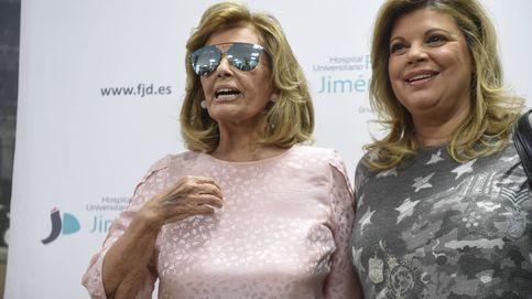 María Teresa Campos recupera la visión de su ojo