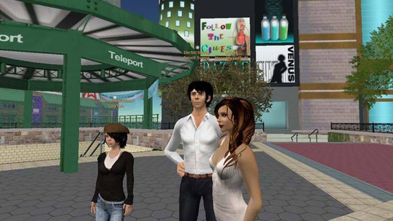 Imagen de Second Life.