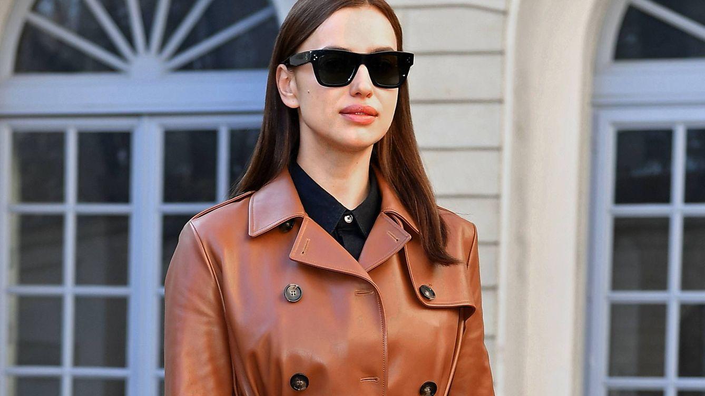 Foto: Irina Shayk llegando al desfile de Tod's en la Milan Fashion Week (Getty Images)