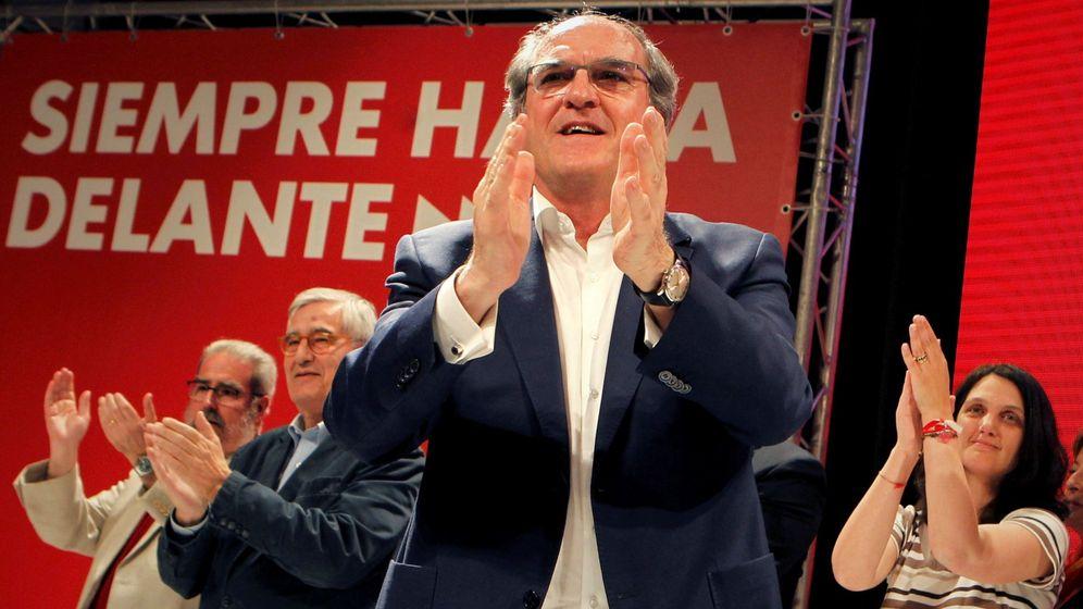 Foto: El candidato del PSOE a la Comunidad de Madrid, Ángel Gabilondo (Efe)
