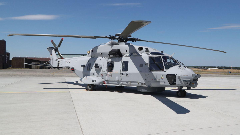 Helicóptero NH-90 de las Fuerzas Armadas alemanas. (Foto: Reuters)