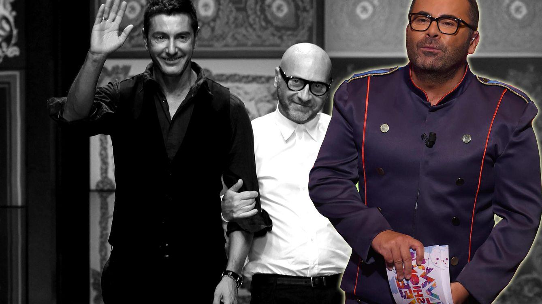 Foto: Los diseñadores de Dolce & Gabbana y Jorge Javier Vázquez (Vanitatis)