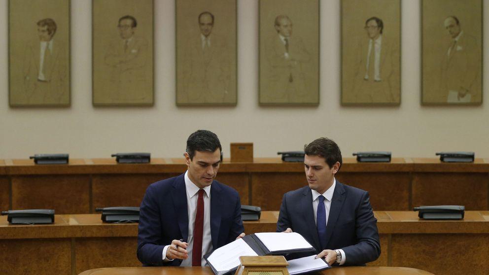 El PSOE intenta desmontar el argumentario de Podemos contra el pacto con Ciudadanos