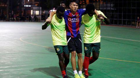 El All Black FC, el equipo de fútbol de refugiados en Hong Kong