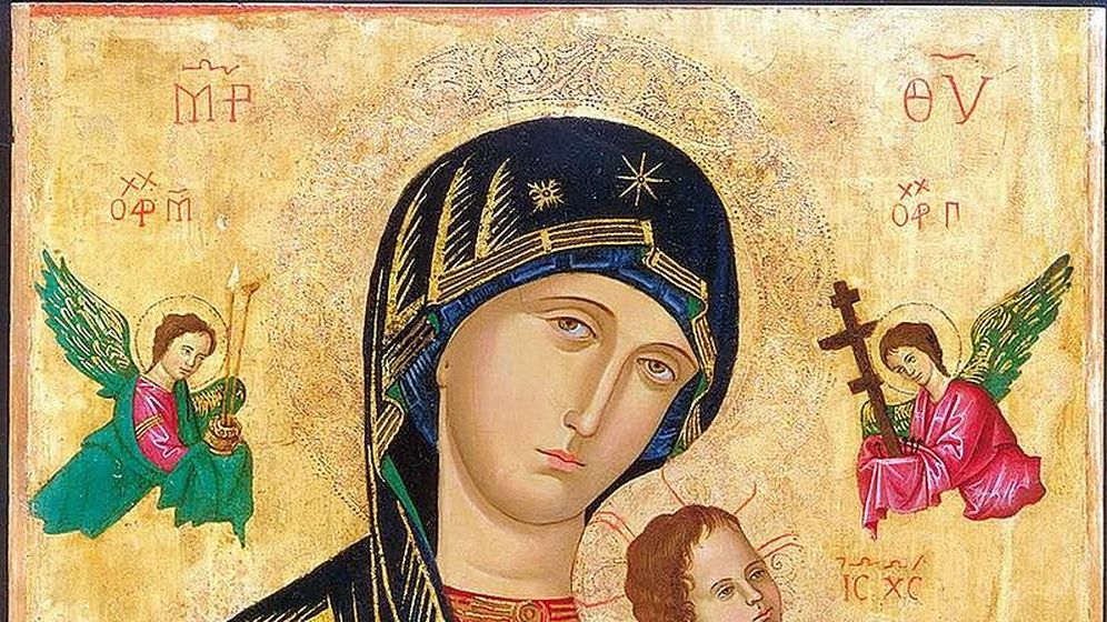 Foto: Pintura de Nuestra Señora del Perpetuo Socorro (LimosaCorel /Wikipedia)