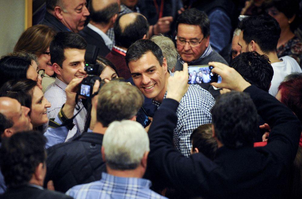 Foto: Pedro Sánchez, el pasado 15 de marzo en Ourense. (EFE)