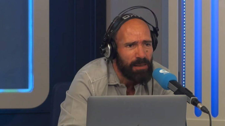 Juan Antonio Alcalá, en 'El partidazo de Cope'. (Cadena Cope)