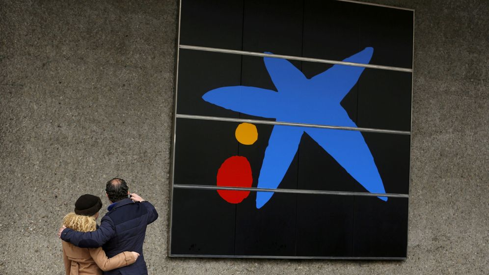 Foto: Logotipo de Caixabank. (Reuters)