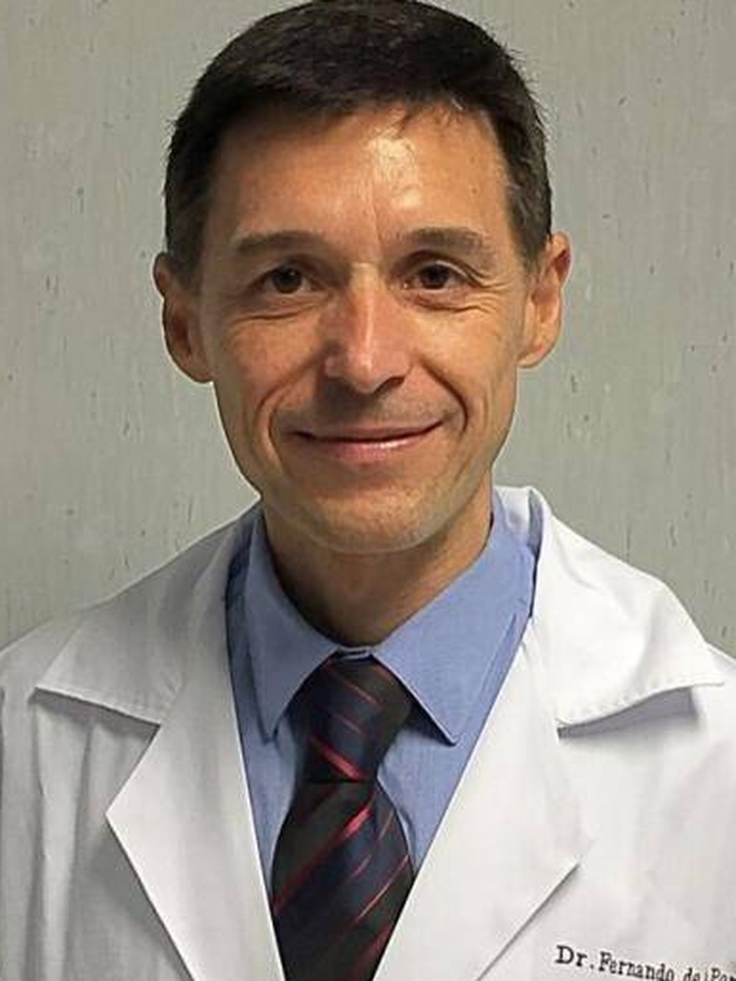 Dr. Fernando de la Portilla.