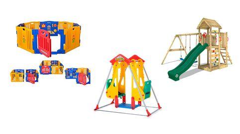 Parques infantiles para que tu bebé se divierta con seguridad y tranquilidad