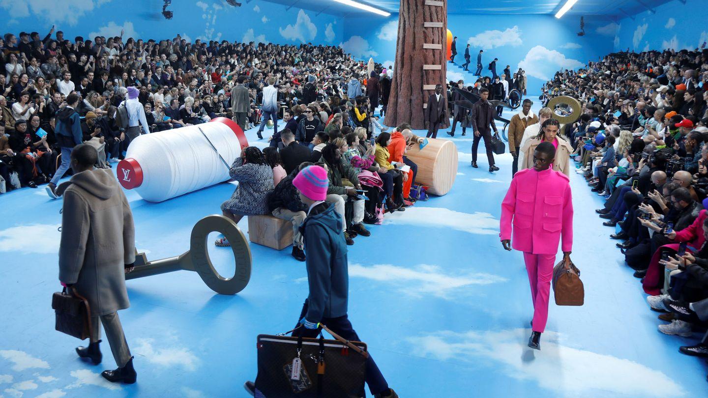 Virgil Abloh para Louis Vuitton. (Getty)