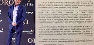 Post de La carta independentista que Juan Diego ha tardado cinco años en desmentir