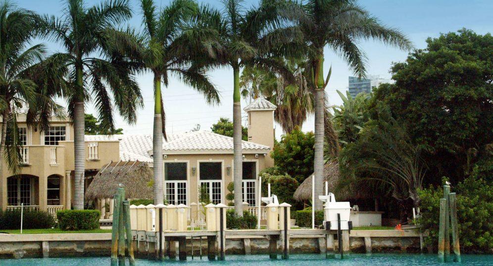 Foto: La casa de Shakira en una imagen de archivo.
