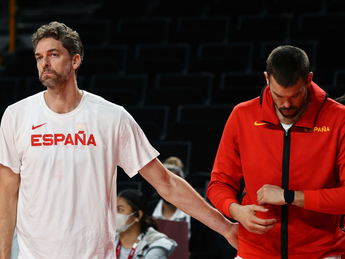 Foto: Pau y Marc Gasol han anunciado su salida de la Selección española. (Reuters)