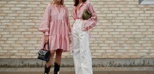 Post de 4 estilos, 4 looks en rosa muy muy clarito para convertirte en fanática de este color