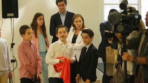 Mariano Rajoy presenta a su hijo a Rafa Nadal